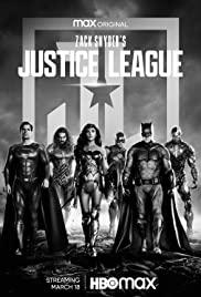 Justice League Snyders Cut (2021) จัสติซ ลีก ของ แซ็ค สไนเดอร์