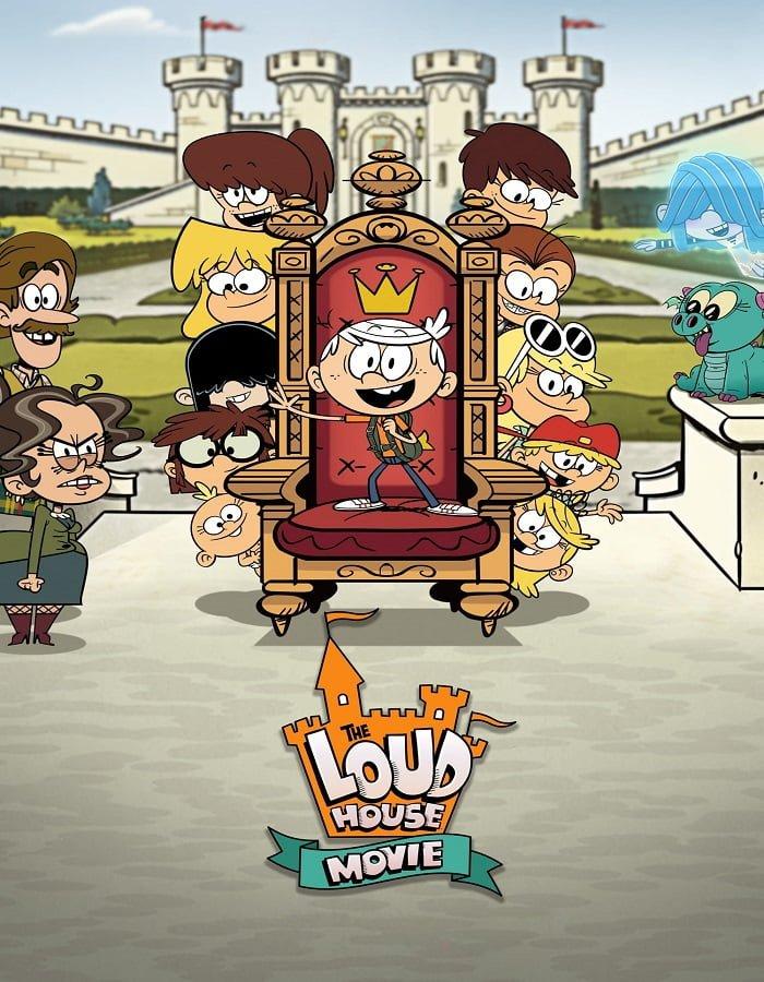 เรื่องย่อ The Loud House Movie (2021) ครอบครัวตระกูลลาวด์ เดอะ มูฟวี ดูหนังดี 4k